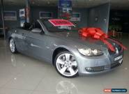 2007 BMW 335i E93 Grey Automatic 6sp A Convertible for Sale