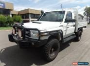 2008 Toyota Landcruiser VDJ79R Workmate Manual 5sp M Cab Chassis for Sale