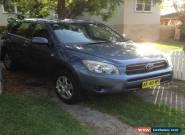 Toyota Rav4 CV (4x4) (2006) 4D Wagon Manual  for Sale