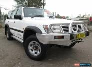 2000 Nissan Patrol GU II ST (4x4) White Automatic 4sp A Wagon for Sale