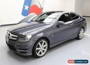 2012 Mercedes-Benz C-Class Base Coupe 2-Door for Sale