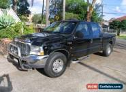 2005 Ford F250 RN XLT Automatic 4sp A Crewcab for Sale