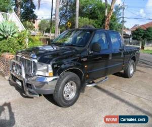 Classic 2005 Ford F250 RN XLT Automatic 4sp A Crewcab for Sale