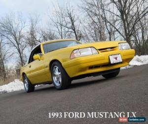 Classic 1993 Ford Mustang LX Convertible 2-Door for Sale