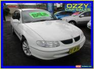 1999 Holden Commodore VT Acclaim White Automatic 4sp A Sedan for Sale