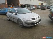 2006 RENAULT MEGANE MAXIM DCI SILVER SPARES OR REPAIRS for Sale