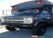 1988 Chevrolet Other g30 mini bus  for Sale