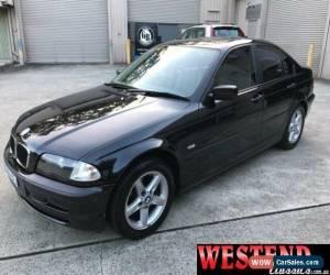 Clic 2000 Bmw 318i E46 Executive Black Automatic 4sp A Sedan For