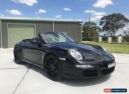 2007 Porsche 911 997 Carrera Automatic 5sp A Cabriolet for Sale