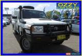 Classic 2010 Toyota Landcruiser VDJ79R 09 Upgrade Workmate (4x4) White Manual 5sp M for Sale