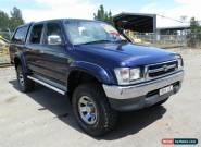 2001 Toyota Hilux KZN165R SR5 (4x4) Blue Manual 5sp M Dual Cab Pick-up for Sale