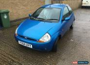 FORD KA 2004 1.3L PETROL SPARES OR REPAIR DUE TO MOT EXPIRED for Sale
