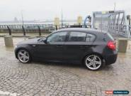 2010 BMW 118D M SPORT BLACK not damaged salvage may px swap for Sale