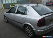 2003 VAUXHALL ASTRA SXI 16V SILVER for Sale