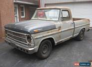 1968 Ford F-100 Base Standard Cab Pickup 2-Door for Sale