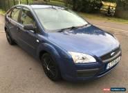 2006 FORD FOCUS LX 1.6 BLUE MOT  for Sale