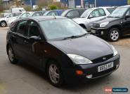 2000 / X REG FORD FOCUS ZETEC 1.8L PETROL MANUAL 5 DOOR HATCHBACK for Sale