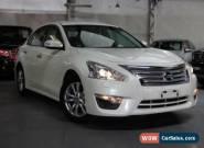 2015 Nissan Altima L33 ST White Automatic A Sedan for Sale