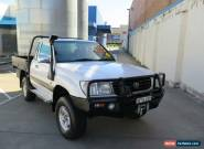 1999 Toyota Landcruiser HZJ105R GXL White Manual 5sp M Cab Chassis for Sale