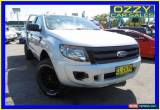 Classic 2013 Ford Ranger PX XL 3.2 (4x4) Highlight Silver Manual 6sp M for Sale