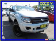 2013 Ford Ranger PX XL 3.2 (4x4) Highlight Silver Manual 6sp M for Sale