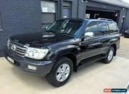 2006 Toyota Landcruiser UZJ100R Upgrade Sahara (4x4) Black Automatic 5sp A for Sale