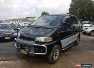 1995 Mitsubishi Delica Exceed (spacegear) Black Automatic 4sp A Wagon for Sale