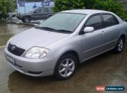 TOYOTA COROLLA 10/2003 5 SPEED MANUAL STEER AND AIR WITH NOVEMBER 2017 REGO  for Sale