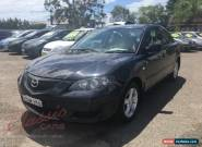 2006 Mazda 3 BK Neo Black Manual 5sp M Sedan for Sale