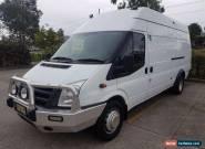2011 Ford Transit VM 460 JUMBO HIGH ROOF White Manual M Van for Sale