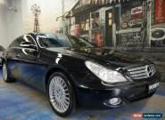 2005 Mercedes-Benz CLS500 C219 Coupe Obsidian Black Automatic 7sp A Sedan for Sale