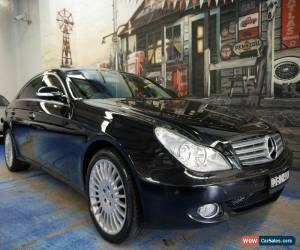 Classic 2005 Mercedes-Benz CLS500 C219 Coupe Obsidian Black Automatic 7sp A Sedan for Sale