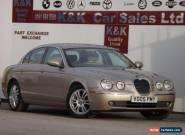 Jaguar S-TYPE 2.7D V6 auto (leather+full history+full mot) for Sale