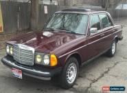 1985 Mercedes-Benz 300-Series Base Sedan 4-Door for Sale