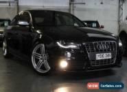 2010 Audi S4 B8 (8K) MY11 3.0 TFSI Quattro Black Automatic 7sp A Sedan for Sale