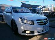 2009 Holden Cruze JG CDX White Automatic 6sp A Sedan for Sale