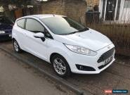 Ford Fiesta Zetec 1.2 Petrol 2013 18K Miles 3dr Frozen White for Sale