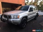 Jeep Grand Cherokee Overland V8 4.7lt 11/2003 for Sale