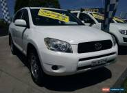 2007 Toyota RAV4 ACA33R CV (4x4) White Automatic 4sp A Wagon for Sale
