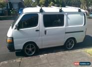 Toyota Hiace 2000 - September rego for Sale