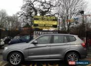 2015 64 BMW X3 2.0 XDRIVE20D M SPORT 5D AUTO 188 BHP DIESEL for Sale