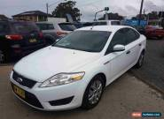 2008 Ford Mondeo MA LX White Automatic 6sp A Sedan for Sale