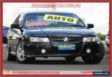 Classic 2005 Holden Commodore VZ SV6 Black Automatic 5sp A Sedan for Sale