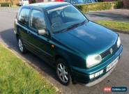 VW Golf 1.8 Driver GL Electric SunRoof 1995 Spares or Repair for Sale