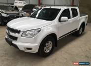 2016 Holden Colorado LT auto 2.8L turbo diesel 4x4 damaged repairable drives  for Sale