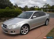 SUBARU LIBERTY MY  2008 PREMIUM SILVER AWD AUTO SUNROOF NICE CAR T/OUT REGO RWC for Sale