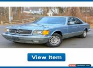 1985 Mercedes-Benz S-Class Base Coupe 2-Door for Sale