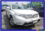 Classic 2013 Toyota Kluger GSU45R MY13 Upgrade KX-S (4x4) Pearl White Automatic 5sp A for Sale