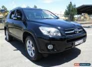 2010 Toyota RAV4 GSA33R 08 Upgrade ZR6 Black Automatic 5sp A Wagon for Sale