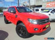 2012 Ford Ranger PX XL Hi-Rider Red Automatic A 4D Utility for Sale
